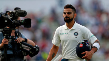 Virat Kohli kept India's chase alive