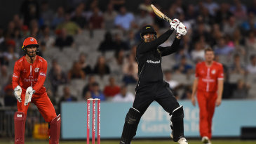 Mohammad Nabi cuts loose through the off side