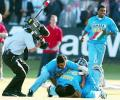 Ganguly and Dravid swamp Mohammad Kaif after he led India to a famous win