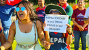 Nepali cricket fans aren't shy about their devotion to Paras Khadka, Netherlands v Nepal, 2nd ODI, Amstelveen, August 3, 2018