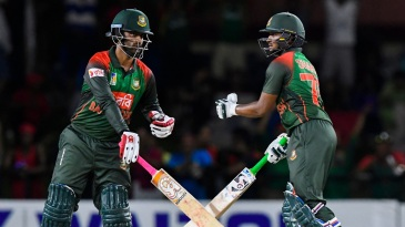 Tamim Iqbal and Shakib Al Hasan strung together a match-winning partnership