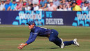 Michael-Kyle Pepper took a brilliant catch to remove Aaron Finch, Essex v Surrey, T20 Blast, South Group, Chelmsford, August 5, 2018