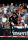 Ruaidhri Smith in his followthrough, Surrey v Glamorgan, T20 Blast, South Group, Kia Oval, July 31, 2018