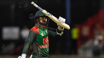 Liton Das celebrates his fifty