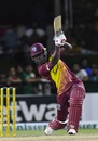 Chadwick Walton drives over extra cover for four, West Indies v Bangladesh, 3rd T20I, Lauderhill, August 5, 2018
