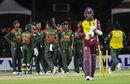 Marlon Samuels was bowled by Shakib Al Hasan, West Indies v Bangladesh, 3rd T20I, Lauderhill, August 5, 2018