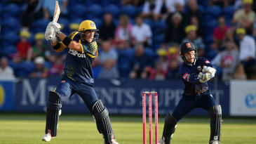 Colin Ingram was again Glamorgan's mainstay
