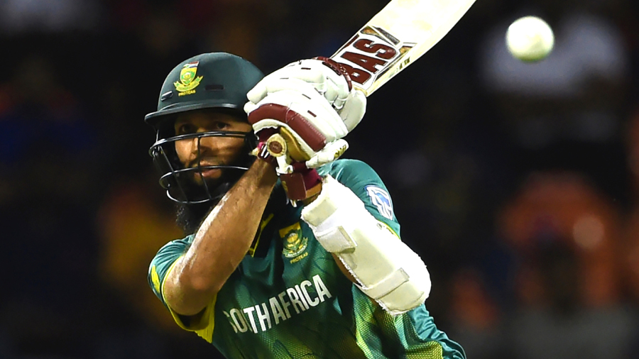 Hashim Amla clobbers one away