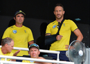 Faf du Plessis looks on from the pavilion, Sri Lanka v South Africa, 4th ODI, Pallekele, August 8, 2018