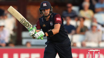 Josh Cobb in action for Northants