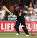 Josh Cobb in action for Northants, Northants v Derbyshire, Vitality Blast, July 19, 2018