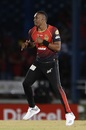 Dwayne Bravo dances in celebration, Trinbago Knight Riders v St Lucia Stars, CPL 2018, Port of Spain, August 8, 2018