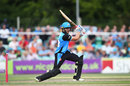 Joe Clarke drives, Worcestershire v Derbyshire, T20 Blast, North Group, New Road, August 9, 2018