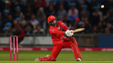 Aaron Lilley raced to a T20 career best