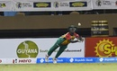 Sherfane Rutherford attempts a near impossible catch, Guyana Amazon Warriors v St Kitts & Nevis Patriots, CPL 2018, Providence, August 9, 2018