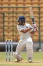 Hanuma Vihari drives the ball square, India A v South Africa A, 2nd unofficial Test, 1st day, Alur, August 10, 2018