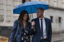 Ben Stokes arrives at court with his wife Clare, Bristol, August 10, 2018