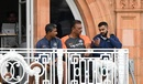 Virat Kohli, Ravi Shastri and Sanjay Bangar deep in discussion, England vs India, 2nd Test, Lord's, 4th day, August 12, 2018