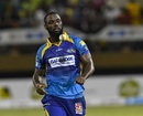 Raymon Reifer prepares to bowl, Guyana Amazon Warriors v Barbados Tridents, Guyana, August 12, 2018
