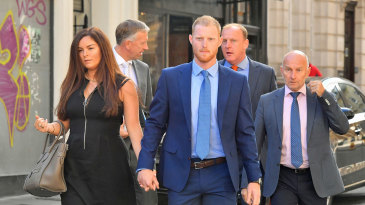 Ben Stokes outside court as his trial enters its second week