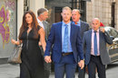 Ben Stokes outside court as his trial enters its second week, Bristol, August 13, 2018