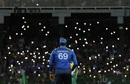 Fans celebrated holding their phone torches up at the Premadasa, Sri Lanka v South Africa, Only T20I, Colombo, August 14, 2018