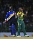 Junior Dala sent Dhananjaya de Silva back, Sri Lanka v South Africa, Only T20I, Colombo, August 14, 2018
