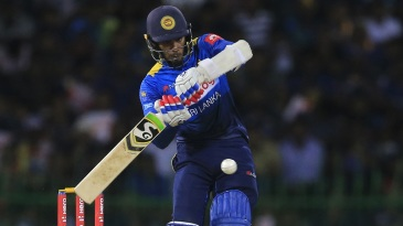 Dhananjaya de Silva found his fluency with the bat
