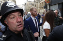 Ben Stokes leaves Bristol Crown Court after his not-guilty verdict