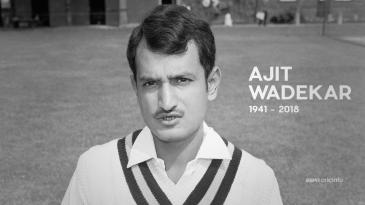 Ajit Wadekar dies aged 77
