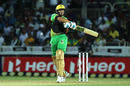Ross Taylor swats the ball away, Jamaica Tallawahs v St Kitts and Nevis Patriots, CPL 2018, Kingston, August 15, 2018