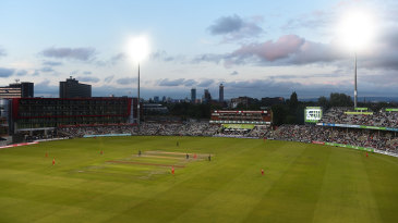 A general view over Old Trafford
