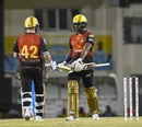Darren Bravo and Brendon McCullum shared a match-winning stand, ST Lucia Stars v Trinbago Knight Riders, Gros Islet, August 16, 2018