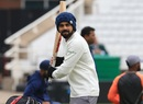 Virat Kohli had a light training session ahead of the third Test at Trent Bridge, Nottingham, August 16, 2018