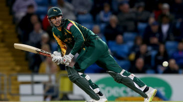 Alex Hales saw Notts through once more