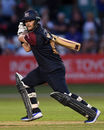 Ben Duckett hits out, Derbyshjire v Northants, Vitality Blast, North Group, Derby, August 8, 2018