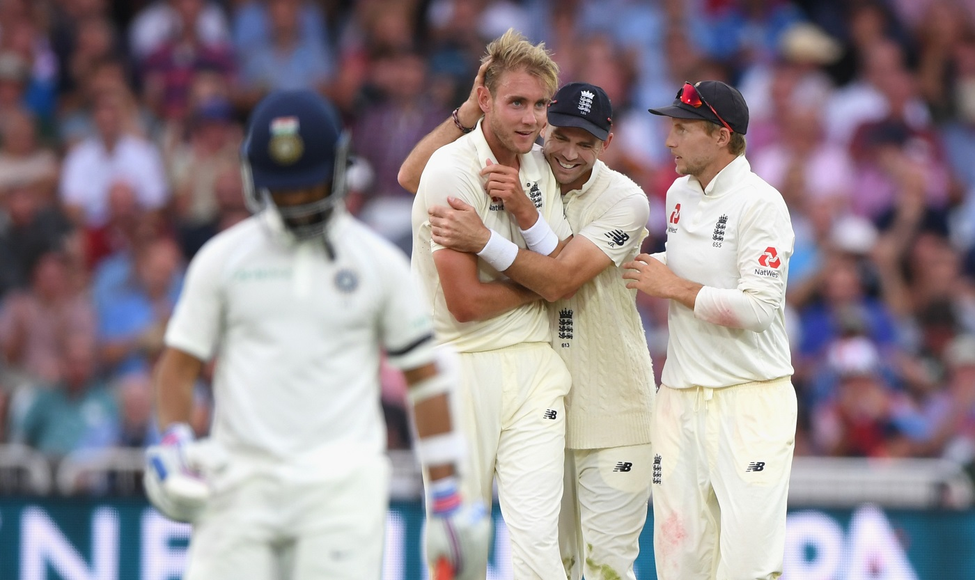 ENG vs IND 2018: Stuart Broad Fined For Aggressive Send-Off To Rishabh Pant