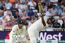 Rishabh Pant got his Test career going with a six, England v India, 3rd Test, Trent Bridge, 1st day, August 18, 2018
