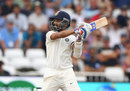 Ajinkya Rahane latches onto a cut, England v India, 3rd Test, Trent Bridge, 1st day, August 18, 2018
