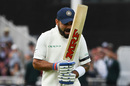 Virat Kohli reacts angrily after getting out, England v India, 3rd Test, Trent Bridge, 1st day, August 18, 2018