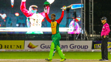 Shimron Hetmyer became the youngest player to score a century in the CPL at age 21