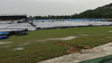 Continuous rain marred two rounds of matches in Vijayawada