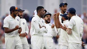 India are expressive in celebration