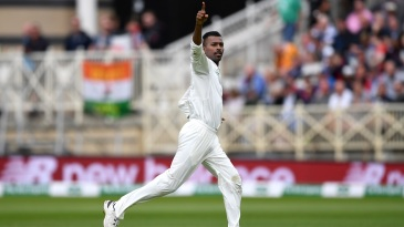 Hardik Pandya wheels away