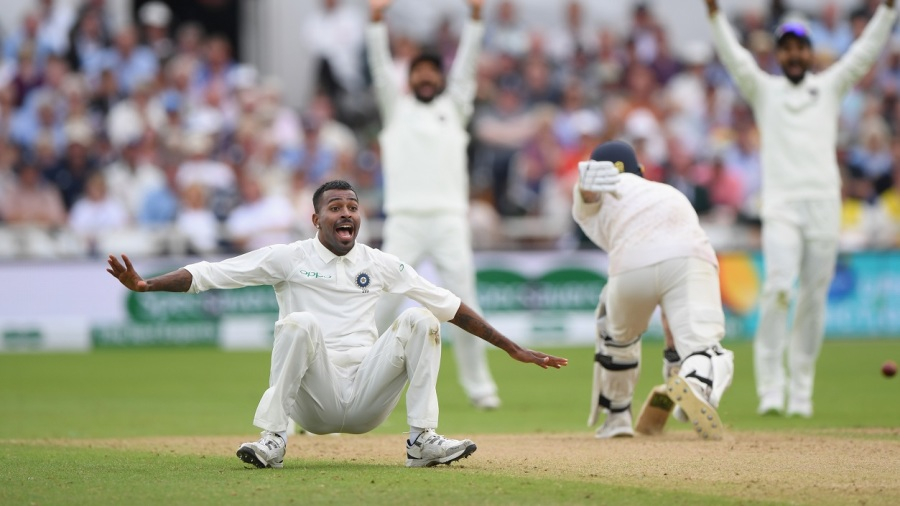 Pandya rocks England as India takes control