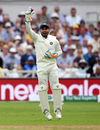 Rishabh Pant pouched five catches in his first innings keeping wicket in Test cricket, England v India, 3rd Test, Trent Bridge, 2nd day, August 19, 2018