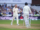Ben Stokes roars after getting KL Rahul, England v India, 3rd Test, Trent Bridge, 2nd day, August 19, 2018