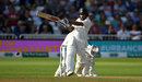 Shikhar Dhawan pulls through midwicket, England v India, 3rd Test, Trent Bridge, 2nd day, August 19, 2018