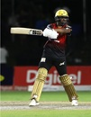 Darren Bravo slashes away, Jamaica Tallawahs v Trinbago Knight Riders, CPL 2018, Lauderhill, August 19, 2018