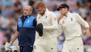 Jonny Bairstow walks off after picking up an injury on his left hand, England v India, 3rd Test, Trent Bridge, 3rd day, August 20, 2018
